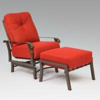 Woodard Cortland Chair and Ottoman Cushions