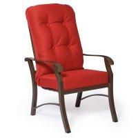 Woodard Cortland High Back Dining Chair Cushions