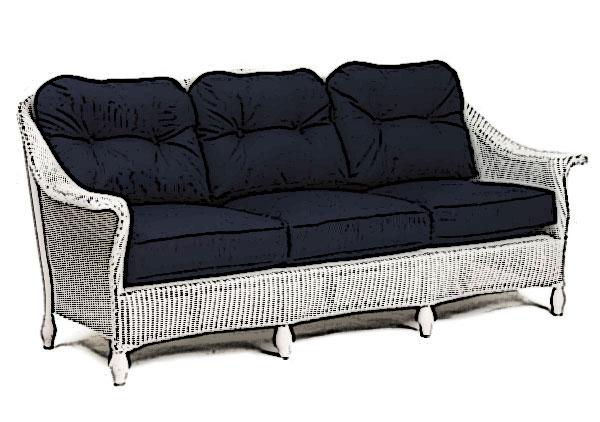 Lloyd Flanders Embassy sofa