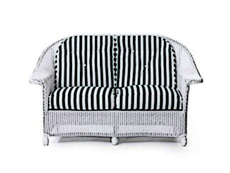 Lloyd Flanders Front Porch loveseat Cushion