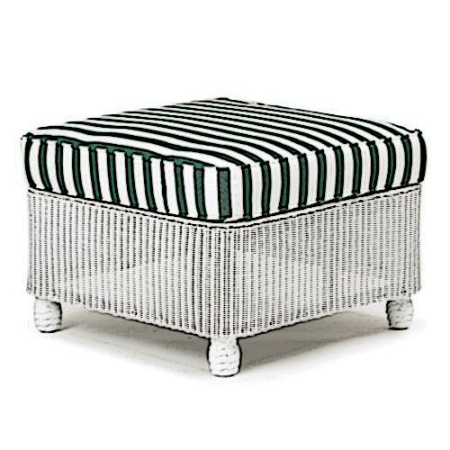 Lloyd Flanders Front Porch ottoman Cushion