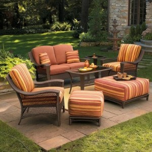 Marilla cushions patio furniture cushions - Replacement cushions for wicker patio furniture ...