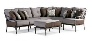 Thomasville Summer Silhouette Sectional Replacement Cushions