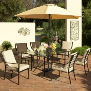 Garden Oasis Bali 7 Piece Dining Set Replacement Cushions