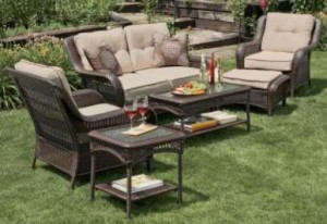 Garden Oasis Napa Valley 4pc Set Cushions