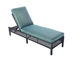 Hampton Bay Fenton Replacement Cushions for Patio Chaise Lounge
