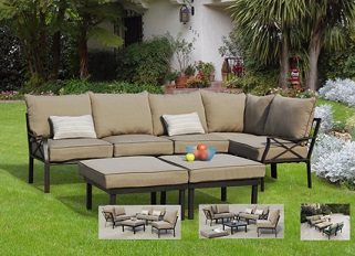 Sandhill 7-Piece Outdoor Sofa Sectional Replacement Cushions