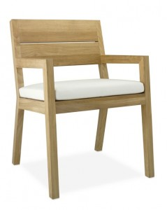 Williams Sonoma Larnaca Outdoor Dining Armchair
