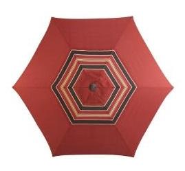 Martha Stewart Living Cedar Island 9ft. Patio Umbrella
