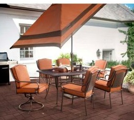 Martha Living Mallorca Ii 7 Piece Patio Dining Set Cushions