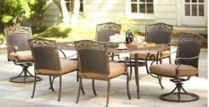 ... Martha Stewart Living Miramar II Cushions For 7pc Dining Set And Dining  Chairs