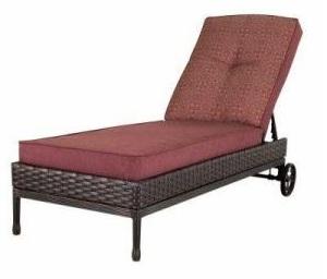 Martha Stewart Living Cushions for Palamos Chaise Lounge