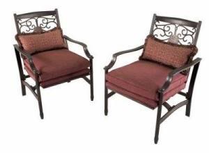 Martha Stewart Living Cushions for Palamos Club Chairs