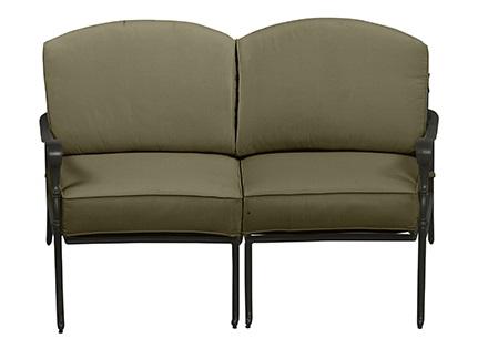 Hampton Bay Edington Loveseat Replacement Cushions