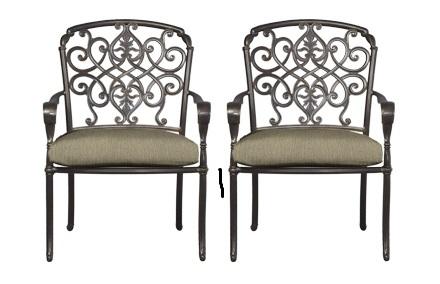 Hampton Bay Edington Dining Chair Replacement Cushions