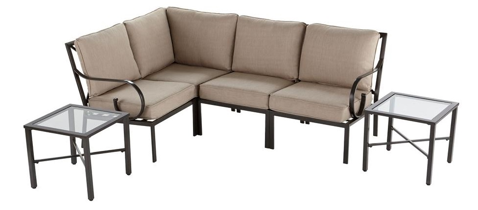 Hampton Bay Granbury Sectional Replacement Cushions