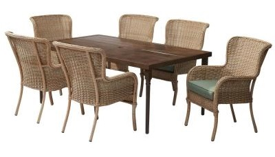 Hampton Bay Lemon Grove Dining Set Replacement Cushions