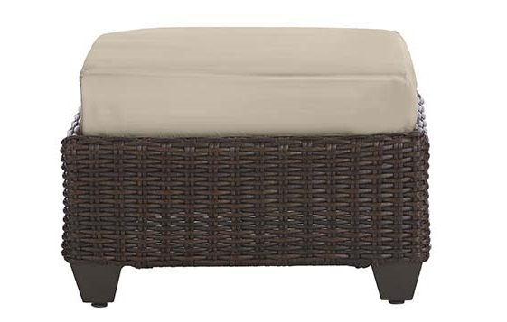 Hampton Bay Mill Valley ottoman Cushion