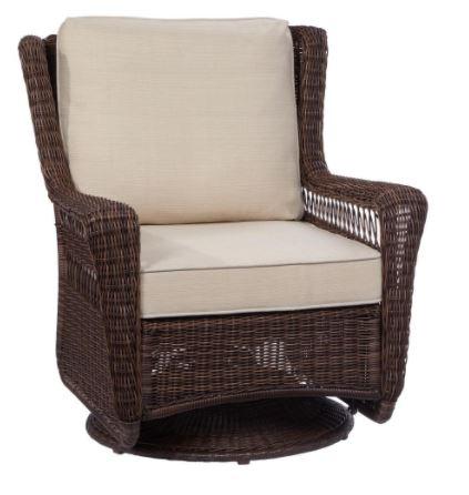 Hampton Bay Park Meadows rocker Replacement Cushions