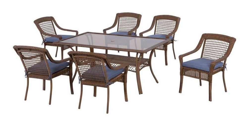 Hampton Bay Spring Haven Dining Set Replacement Cushions
