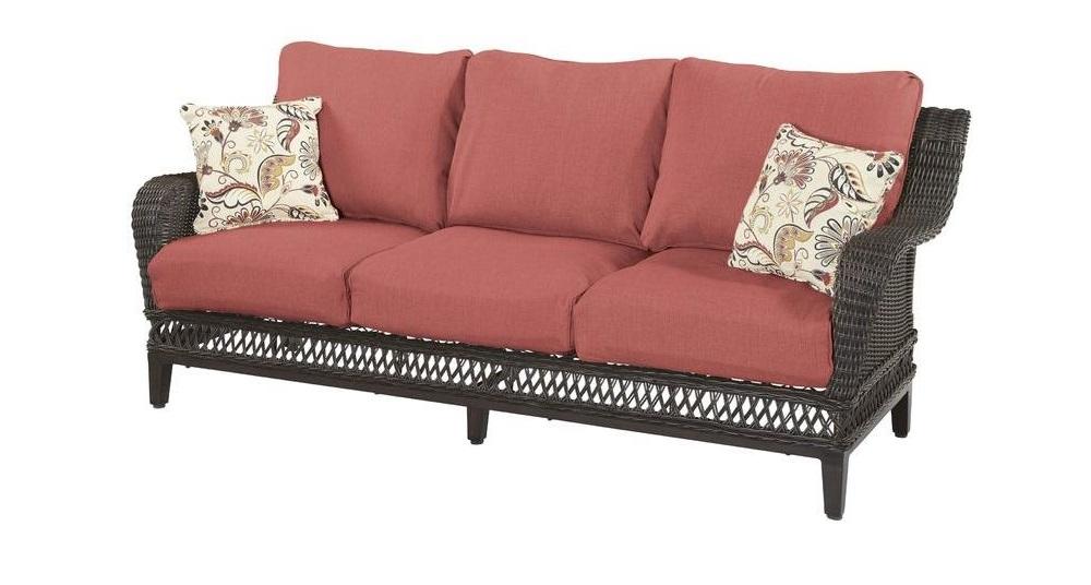 Hampton Bay Woodbury Sofa Cushions