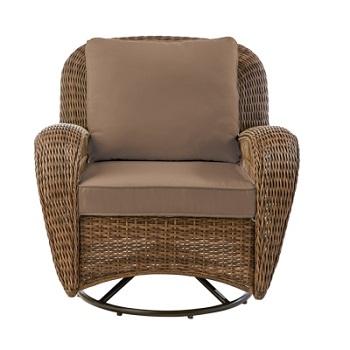 Hampton Bay Beacon Park Swivel Lounge Chair Cushions