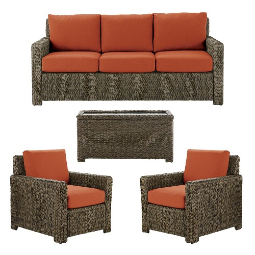 Hampton Bay Laguna Point Sofa and Chairs Replacement Cushions