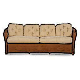 Lloyd Flanders Reflections crescent sofa cushion