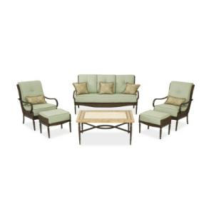 Hampton Bay Tramore 6pc Chat Set Replacement Cushions