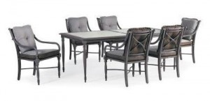 Thomasville Summer Silhouette 7pc Dining Set Replacement Cushions