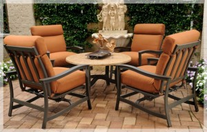 Agio Majorca Dining Set Replacement Cushions