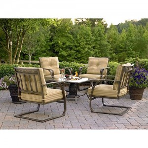 Garden Oasis Lago Vista 5pc Patio Chat Set