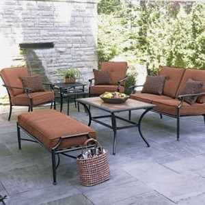 Garden Oasis River Stone Collection Replacement Cushions