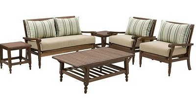 Thomasville Palmetto Estates Loveseat And Club Chairs Replacement Cushions
