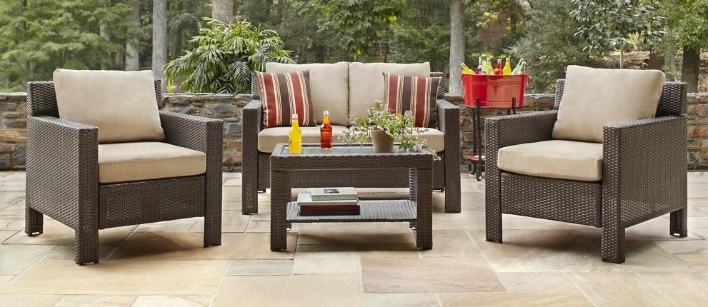 Hampton Bay Beverly Cushions – Patio Furniture Cushions