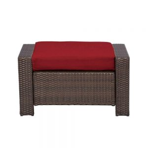 Hampton Bay Beverly Ottoman Replacement Cushions