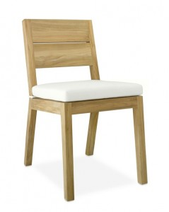 Williams Sonoma Larnaca Outdoor Dining Side Chair