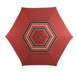 Martha Stewart Living Cedar Island 9ft. Patio Umbrella
