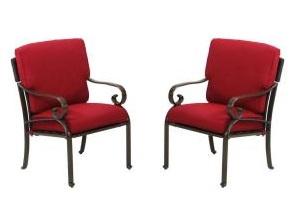 Martha Stewart Living Cedar Island Dining Chair Cushions
