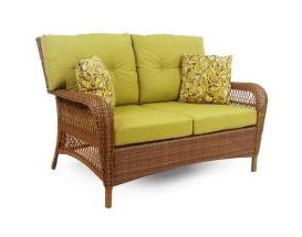 Martha Stewart Living Charlottetown Loveseat Replacement Cushions
