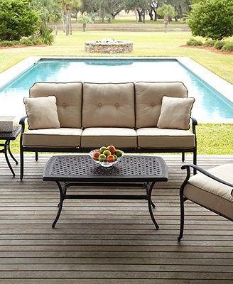 Bellingham Sofa Patio Furniture Cushions
