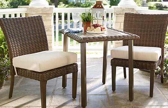Hampton Bay Mill Valley bistro set Replacement Cushions