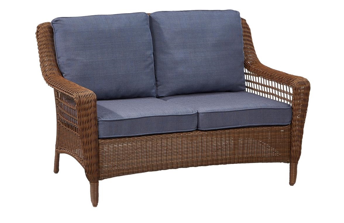 Hampton Bay Spring Haven Loveseat Cushions