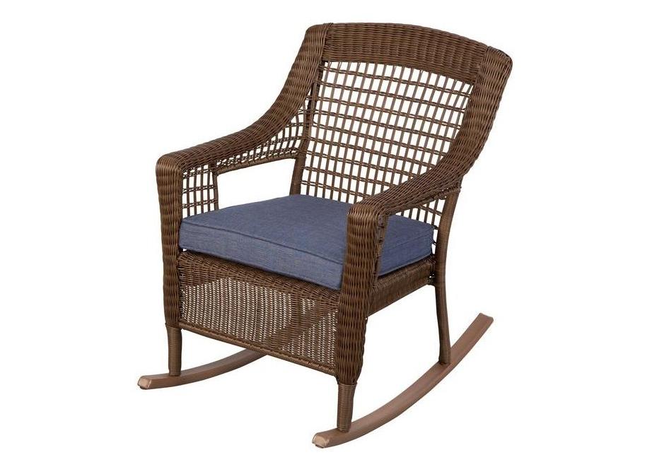 Hampton Bay Spring Haven Rocking Chair Cushions