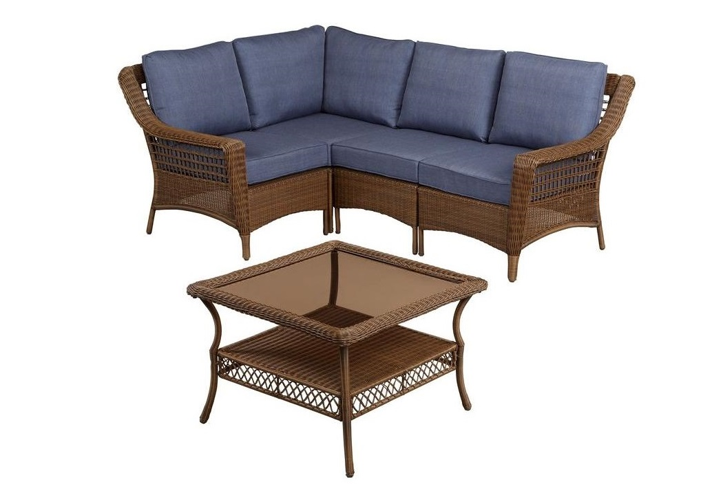 Hampton Bay Spring Haven Cushions Patio Furniture Cushions