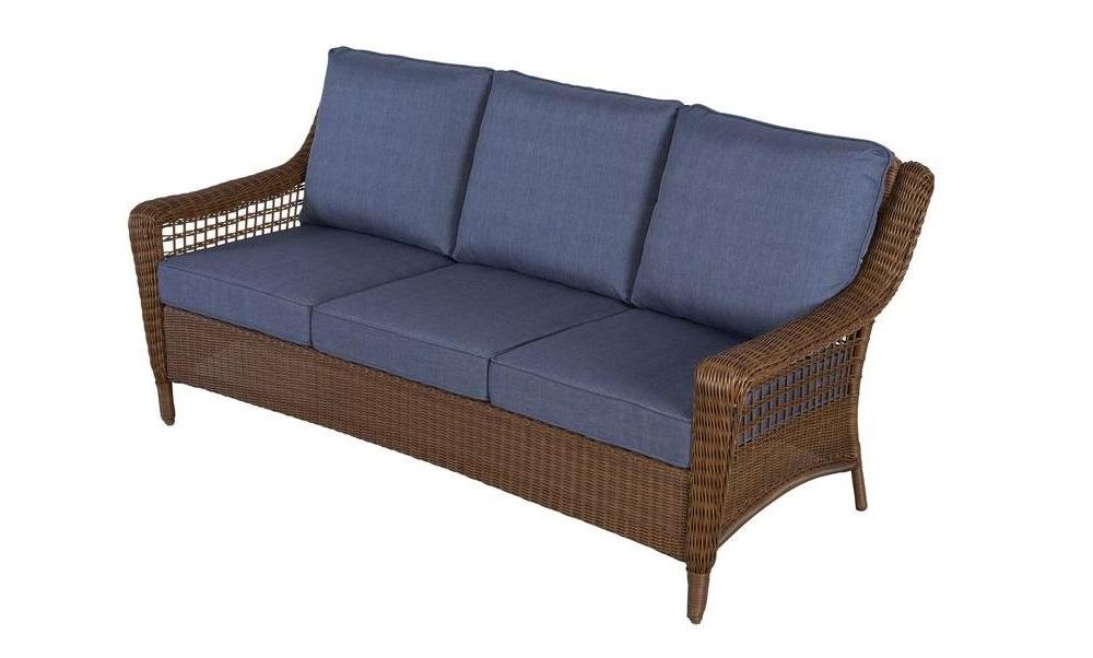 Hampton Bay Spring Haven Sofa Cushions