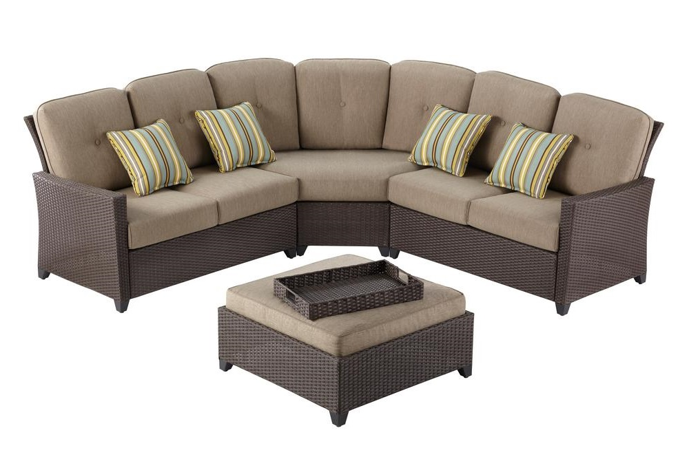 Hampton Bay Tacana Sectional Cushions
