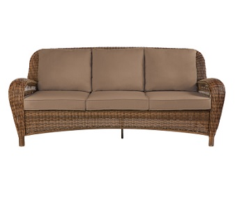 Hampton Bay Beacon Park Outdoor Patio Sofa Cushions