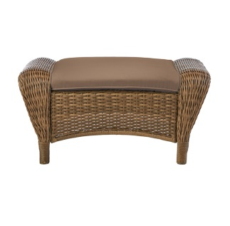 Hampton Bay Beacon Park Ottoman Cushion