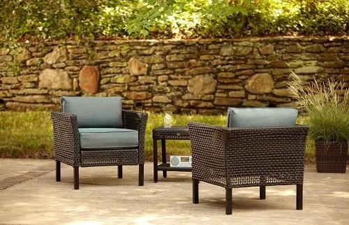 Hampton Bay Fenton Club Chair Cushions for Home Depot Furniture